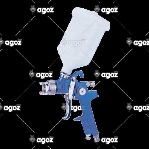 aerografo manuale con tazza superiore