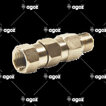 107014 raccordo girevole alta pressione per liquidi