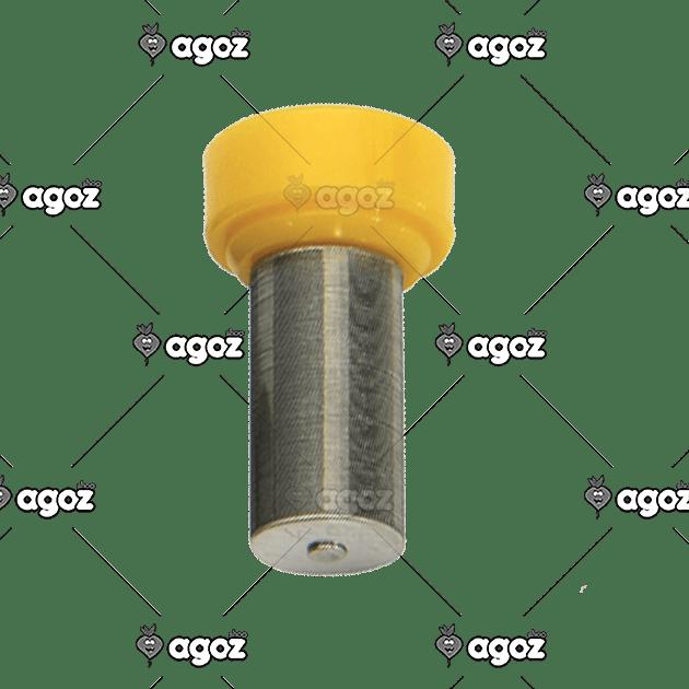 filtro lamellare giallo