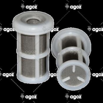 filtro nylon rete inox fondo aperto
