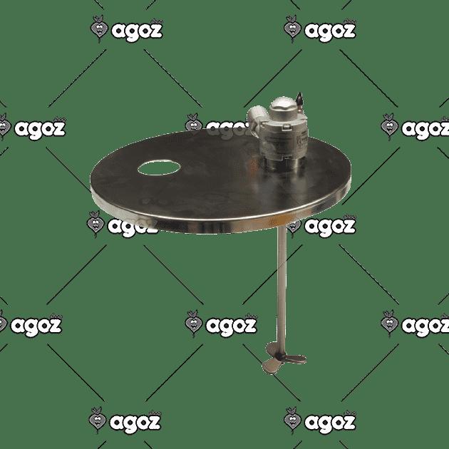 FM64005 agitatore pneumatico montato su coperchio inox