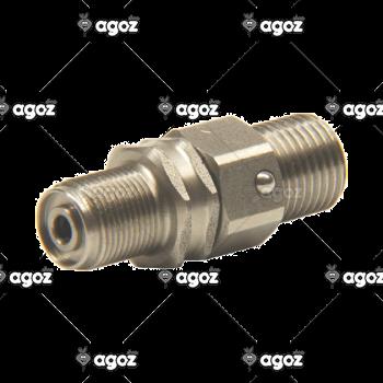 107000 raccordo girevole alta pressione inox
