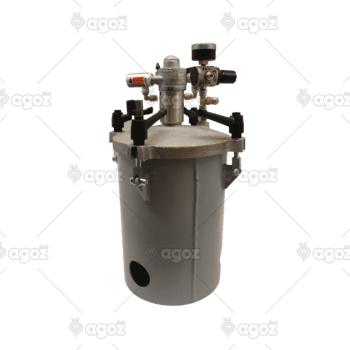 33510 serbatoio sottopressione con agitatore pneum