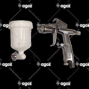 200008 pistola manuale S-2-F-R con tazza